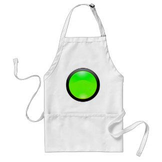 Grünes Glas Schürze