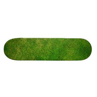 Grünes Gras-Beschaffenheit 19,1 Cm Old School Skateboard Deck