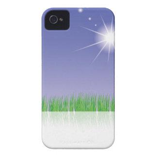 Grünes Gras iPhone 4 Cover