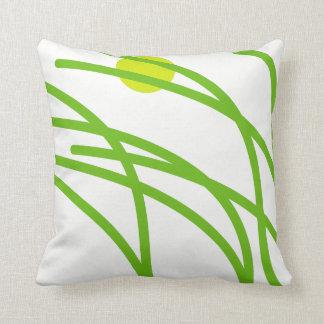 Grünes Gras Kissen