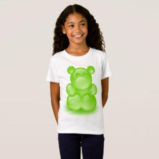 Grünes gummiartiges Bärn-Shirt T-Shirt