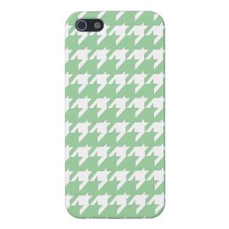 Grünes Hahnentrittmuster iPhone 5 Schutzhülle Fürs iPhone 5