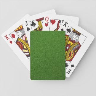 Grünes holperiges Muster Spielkarten