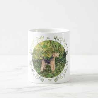 Grünes Holz Kaffeetasse