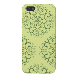 grünes Java-Batik iphone 5c iPhone 5 Cover