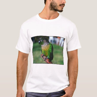 grünes Karo conure T-Shirt