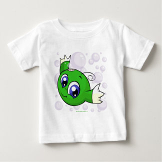 Grünes Kiko, das durch Kiko See swishing ist Baby T-shirt