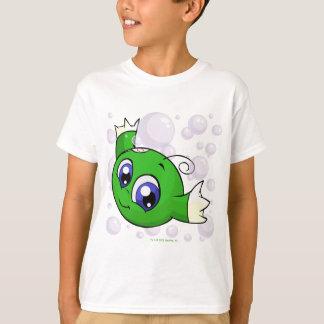 Grünes Kiko, das durch Kiko See swishing ist T-Shirt