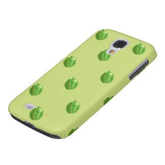 grünes klares starkes des Musters HTC der Galaxy S4 Hülle