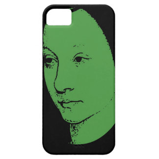 Grünes klassisches Kunst-Gesicht Schutzhülle Fürs iPhone 5