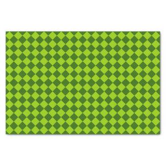 Grünes Kombinations-Diamant-Muster durch STaylor Seidenpapier