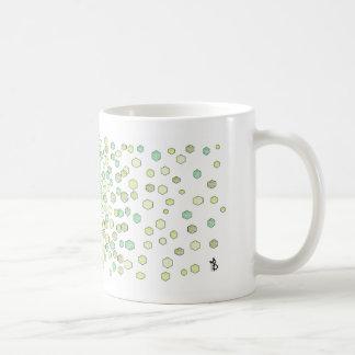 grünes Kristall Kaffeetasse