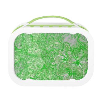 Grünes Laub Brotdose