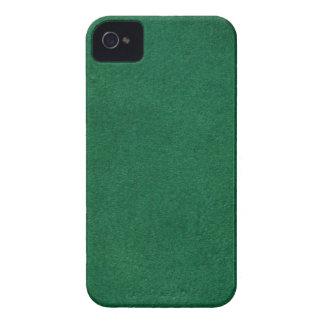 Grünes Leder iPhone 4 Cover