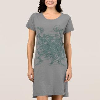 Grünes Licht Entwurf Kleid