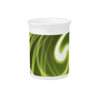 Grünes Licht Getränke Pitcher