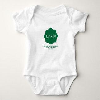 Grünes Logo Baby Strampler