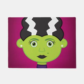Grünes Mädchenmonster Türmatte