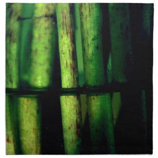 Grünes Makro Serviette