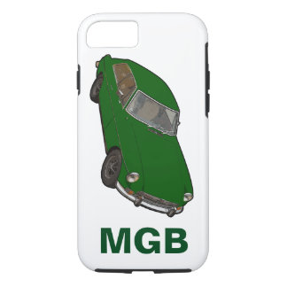 Grünes MGB iPhone 8/7 Hülle