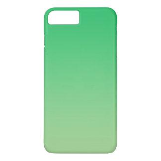 Grünes Ombre iPhone 8 Plus/7 Plus Hülle