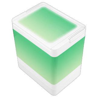 Grünes Ombre Kühlbox