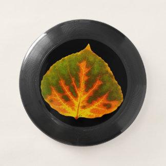 Grünes orange u. gelbes Aspen-Blatt #1 Wham-O Frisbee