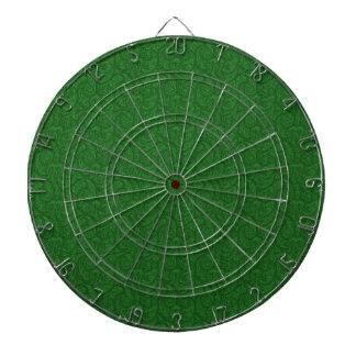Grünes Paisley Dartscheibe