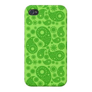 Grünes Paisley Hülle Fürs iPhone 4