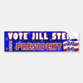 Grünes Party 2016 Jill-Stein Präsidenten-Wahl Autoaufkleber