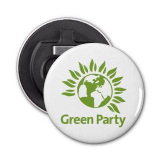 Grünes Party von England und von Wales Flaschenöffner