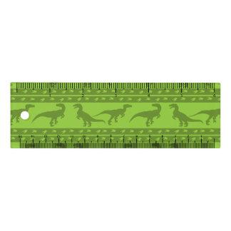 Grünes Raubvogel-Muster Lineal