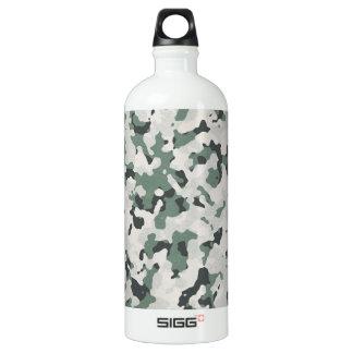 Grünes schwarzes multi Gelände Tarnungs-graues Aluminiumwasserflasche