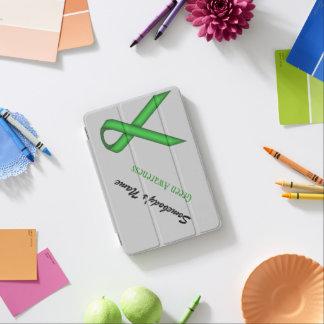 Grünes Standardband durch Kenneth Yoncich iPad Mini Cover