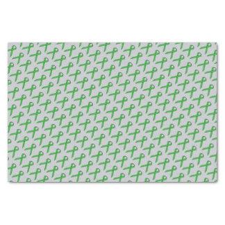 Grünes Standardband Seidenpapier