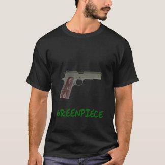 Grünes Stück T-Shirt