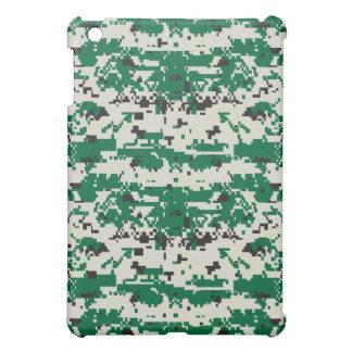 Grünes Tarnungs-Muster Digital iPad Mini Hülle