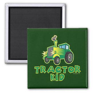 Grünes Traktor-Kind Magnete