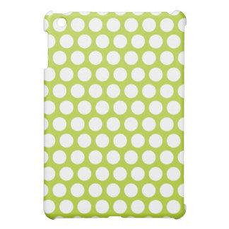 Grünes Tupfen iPad Mini iPad Mini Hülle