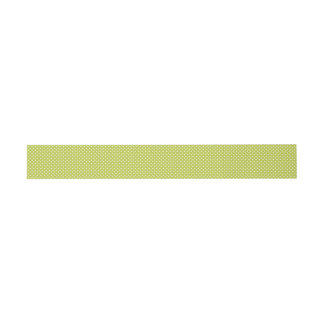 Grünes Tupfen-Muster Einladungsbanderole