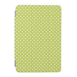 Grünes Tupfen-Muster iPad Mini Cover