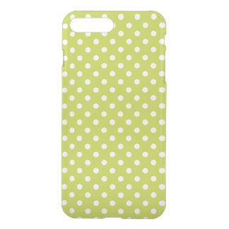 Grünes Tupfen-Muster iPhone 7 Plus Hülle