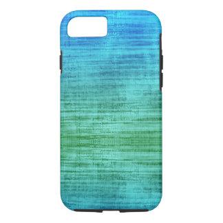 Grünes und blaues Steigungs-Beschaffenheits-Muster iPhone 8/7 Hülle
