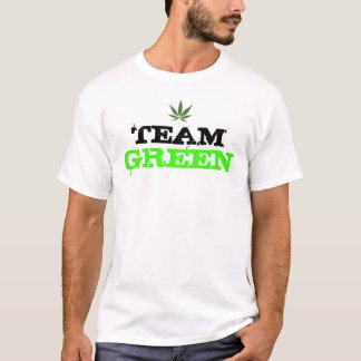 "Grünes"" Unkrautt-shirt ""des Teams T-Shirt"