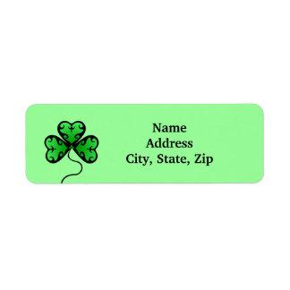Grünes viktorianisches Kleeblatt
