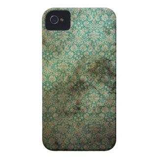 Grünes Vintages Druck-BlackBerry-mutiger Kasten iPhone 4 Hüllen