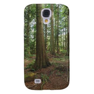 Grünes Waldwaldbaum-Natur-Foto Galaxy S4 Hülle