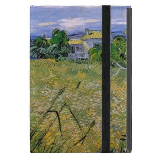 Grünes Weizen-Feld mit Zypresse durch Van Gogh. Etui Fürs iPad Mini