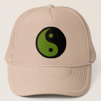 Grünes Yin Yang Truckerkappe