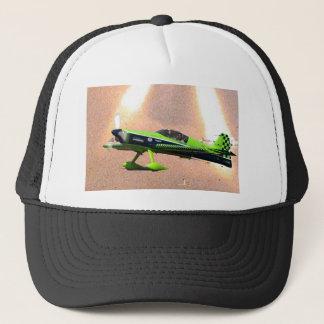 Grünes Zlin russisches Aerobatic Truckerkappe